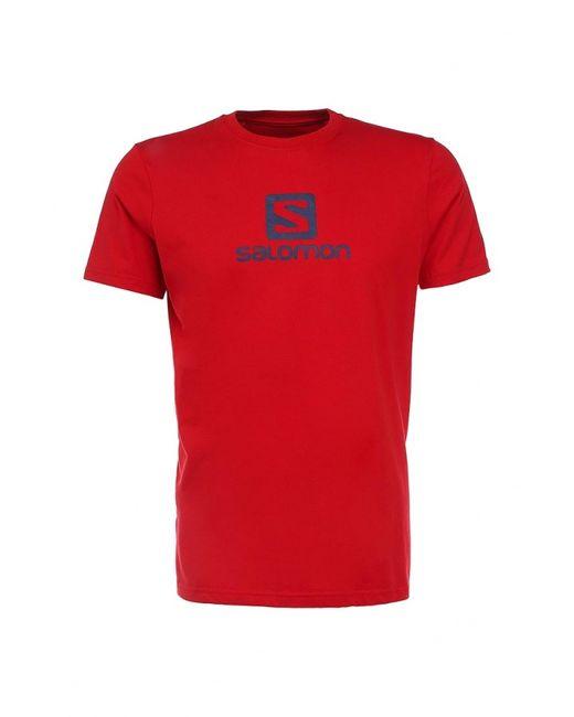 Salomon | Мужская Красная Футболка