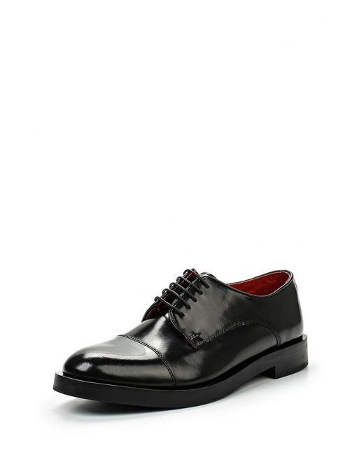 Base London   Мужские Чёрные Туфли