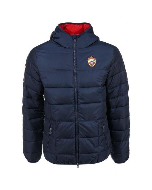Atributika & Club™ | Мужская Синяя Куртка Утепленная