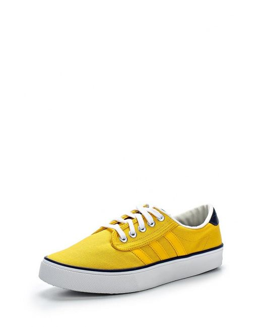 adidas Originals | Женские Жёлтые Кеды