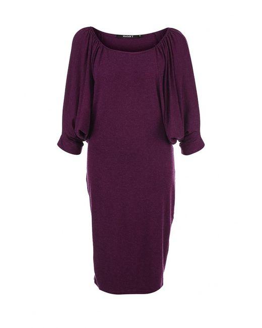 MadaM T   Женское Фиолетовое Платье