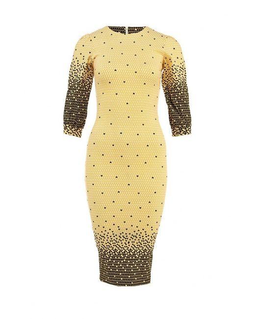 Tutto Bene | Женское Жёлтое Платье