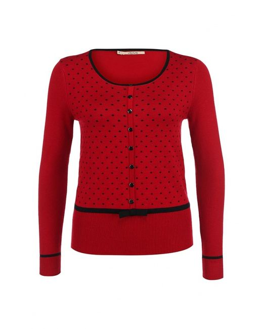 Vis-a-Vis | Женский Красный Джемпер