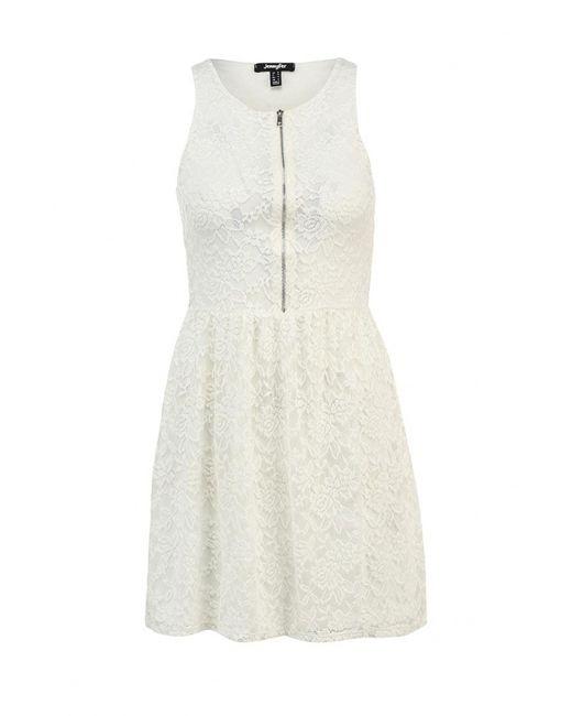 Jennyfer | Женское Белое Платье
