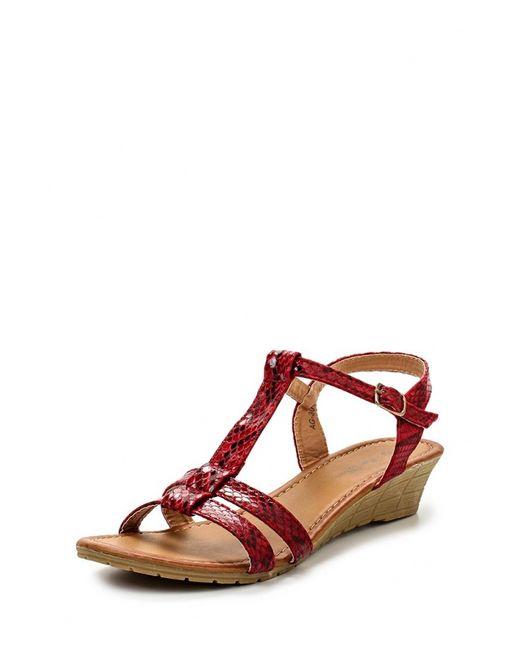 Max Shoes   Женские Красные Сандалии