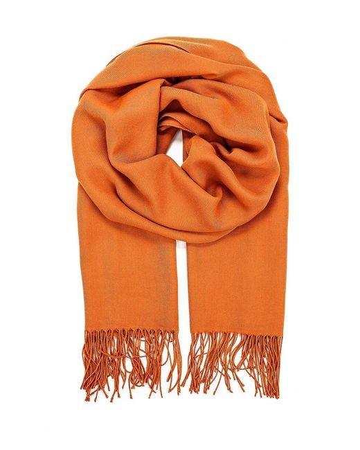Venera | Женский Оранжевый Палантин
