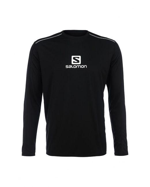 Salomon | Мужской Чёрный Лонгслив Спортивный
