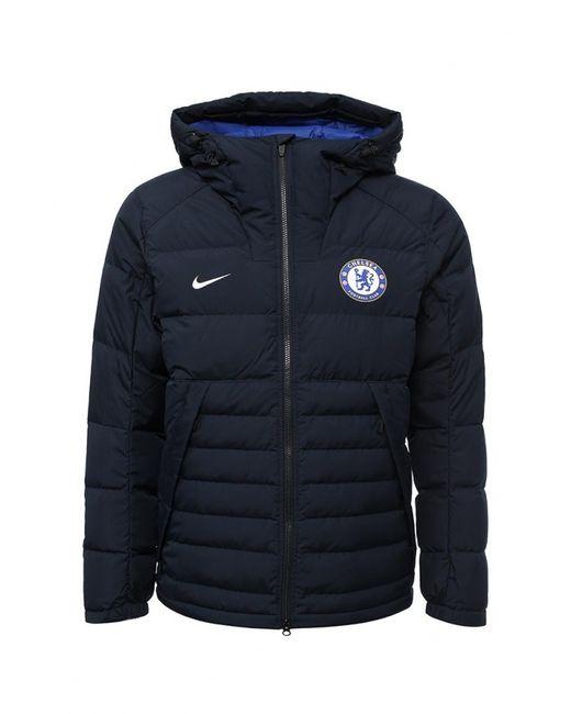 Nike | Мужской Синий Пуховик