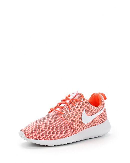 Nike   Женские Оранжевые Кроссовки