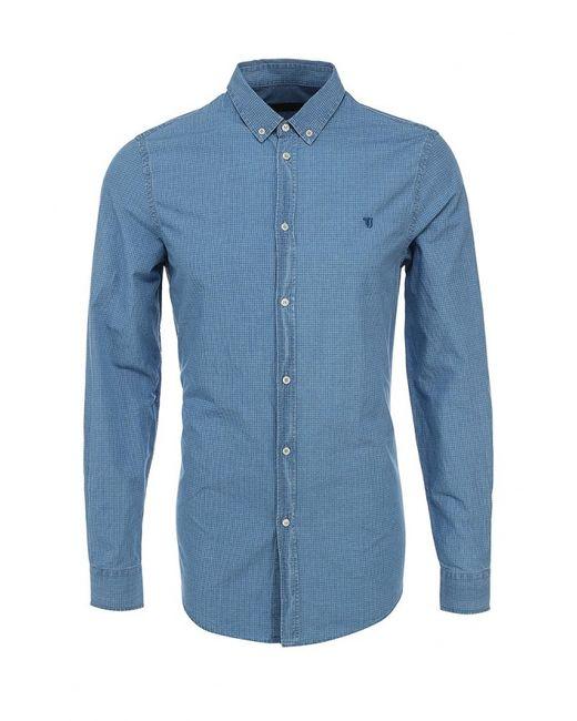 Trussardi Jeans | Мужская Синяя Рубашка