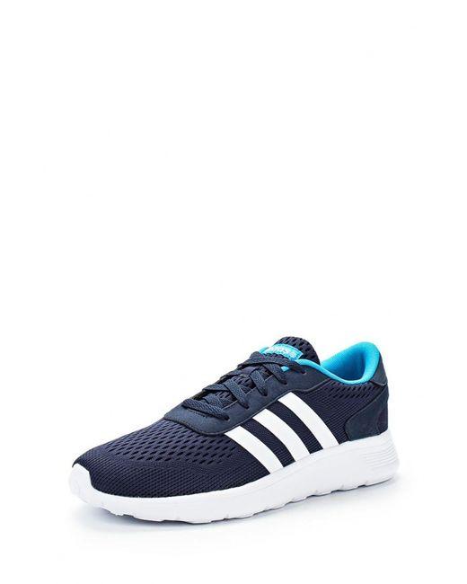 adidas Neo | Мужские Синие Кроссовки