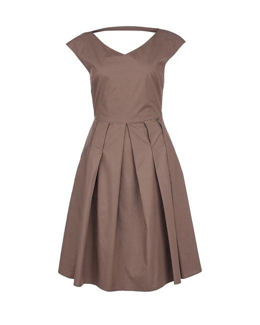 Liu •Jo | Женское Коричневое Платье Liu Jo