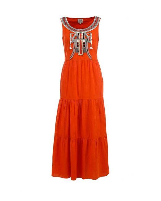 Finn Flare | Женское Оранжевое Платье