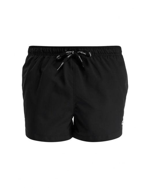 Calvin Klein | Мужские Чёрные Шорты Для Плавания Underwear