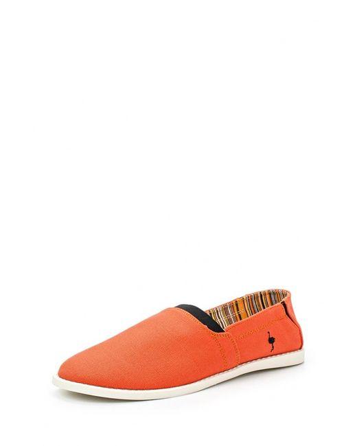 Nexpero | Женские Оранжевые Слипоны