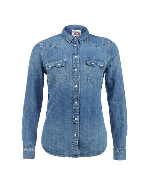 Levi's®   Женская Синяя Рубашка Джинсовая
