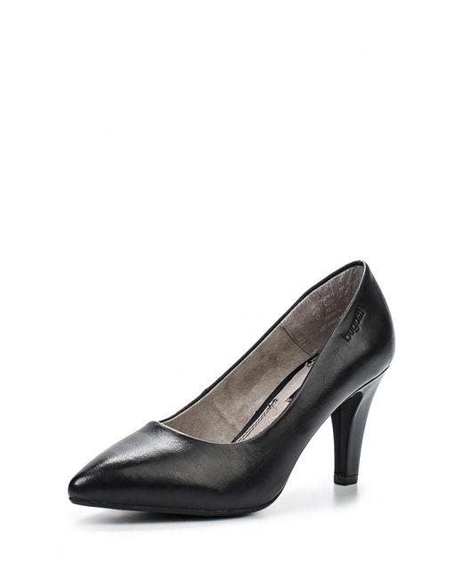 Bugatti | Женские Чёрные Туфли