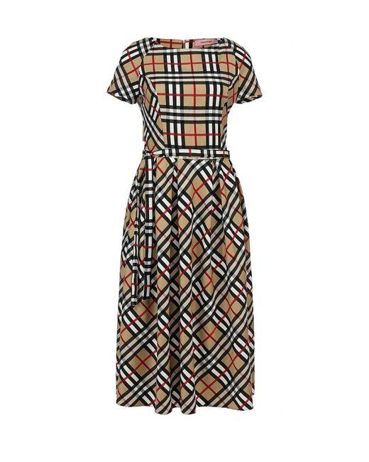 TrendyAngel | Женское Бежевое Платье