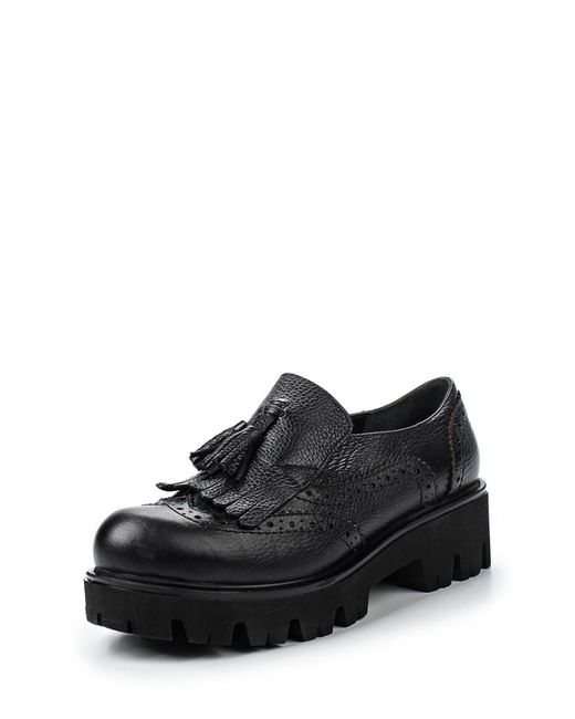 Mabu | Женские Чёрные Ботинки