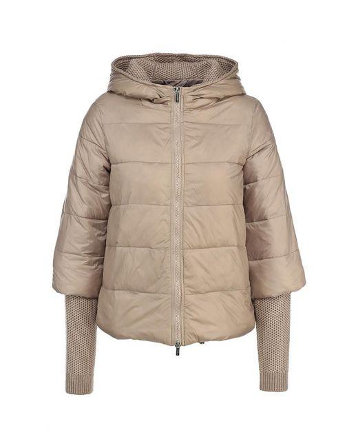 MOTIVI   Женская Бежевая Куртка Утепленная