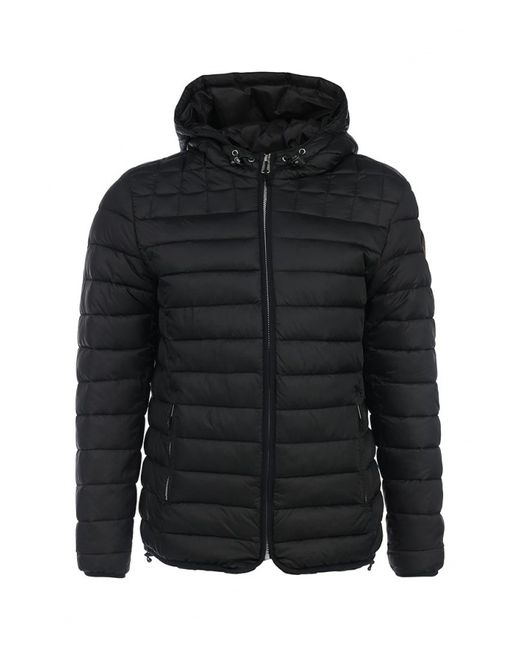 Napapijri | Мужская Чёрная Куртка Утепленная
