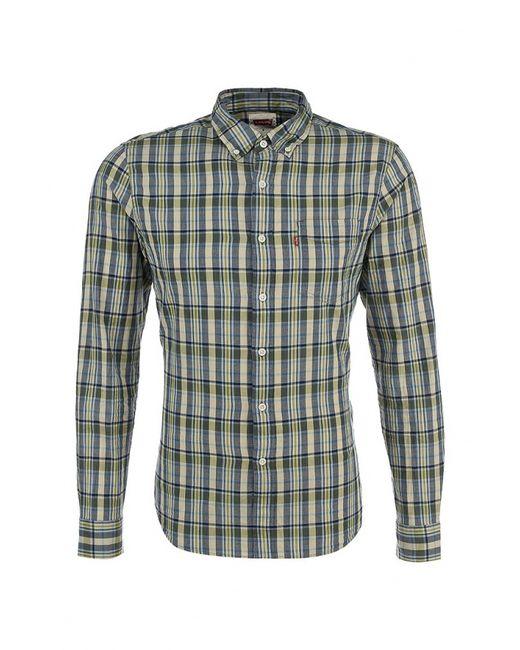 Levi's® | Мужская Зелёная Рубашка