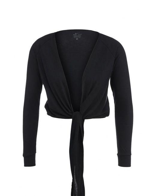 Nike   Женский Чёрный Кардиган