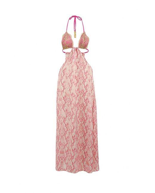 Beach Bunny | Женское Розовое Платье Пляжное