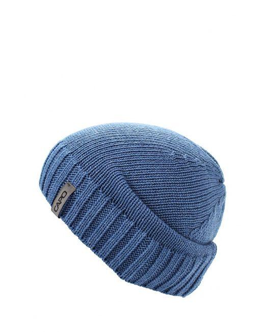Capo   Мужская Синяя Шапка