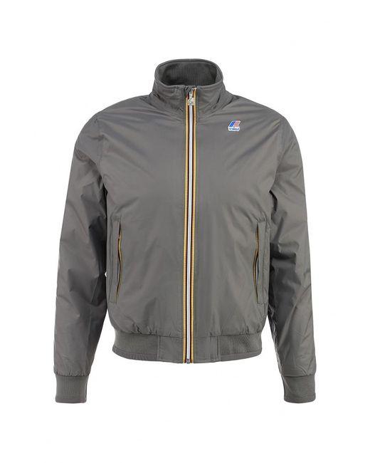 K-Way | Мужская Серая Куртка Утепленная