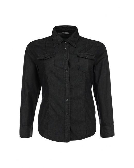 Fiorella Rubino | Женская Чёрная Рубашка Джинсовая