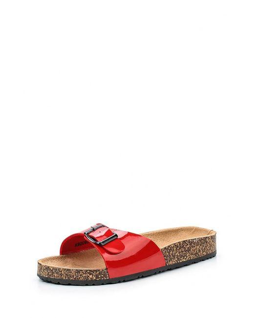 Retro Shoes | Женские Красные Шлепанцы