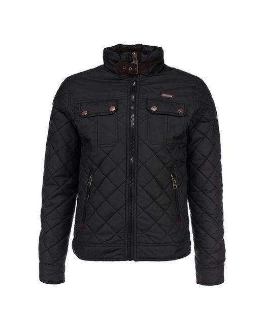 MeZaGuz   Мужская Чёрная Куртка Утепленная