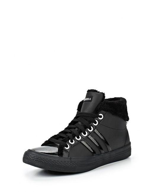 adidas Neo | Женские Чёрные Кеды