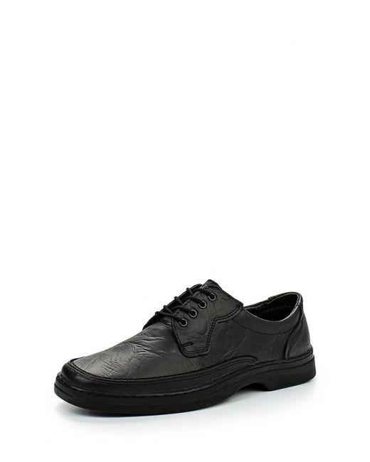 Bekerandmiller | Мужские Чёрные Ботинки