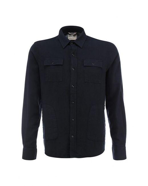 Mudo | Мужская Синяя Рубашка