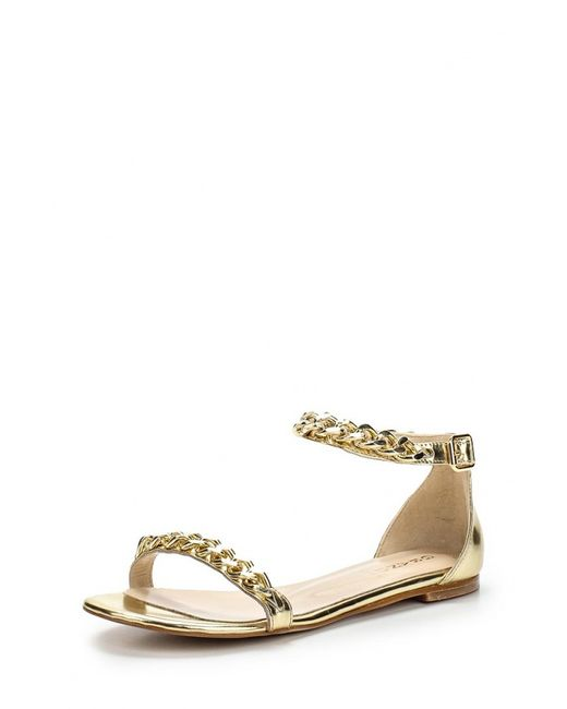 Grand Style | Женские Золотые Сандалии