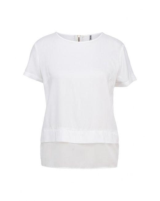 Troll | Женская Белая Блуза