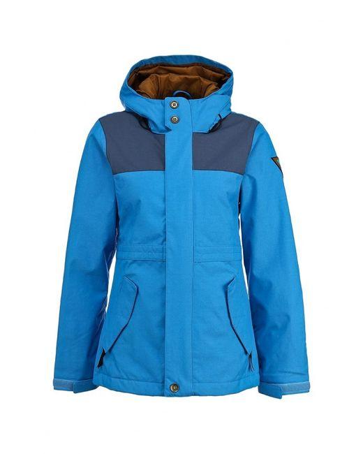 Bonfire | Женская Синяя Куртка Горнолыжная