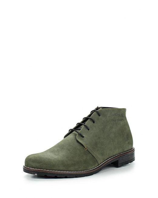 Bekerandmiller | Мужские Зелёные Ботинки