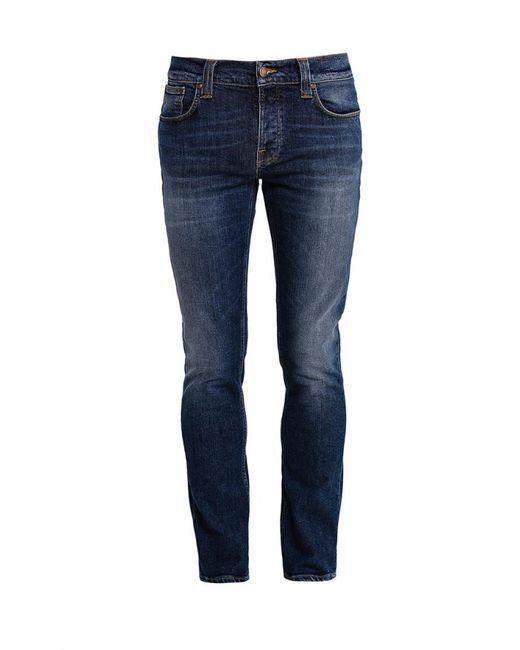Nudie Jeans Co | Мужские Синие Джинсы Nudie Jeans