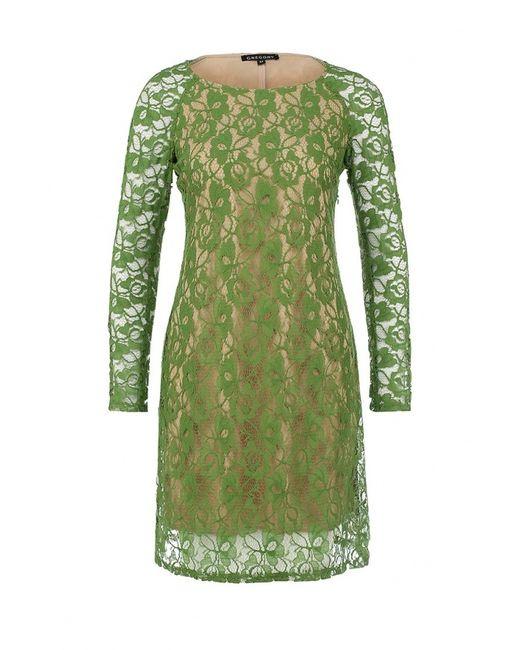 Gregory   Женское Зелёное Платье