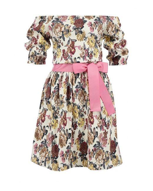 Tutto Bene | Женское Многоцветное Платье