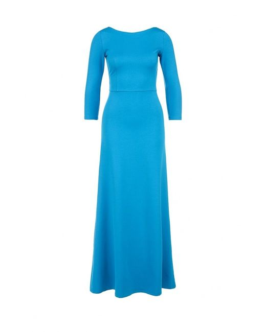 Анна Чапман   Женское Голубое Платье