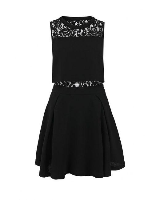 LOST INK   Женское Чёрное Платье