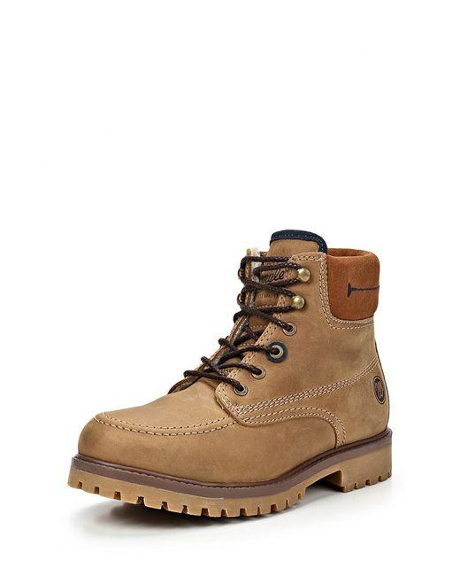 Wrangler | Мужские Коричневые Ботинки