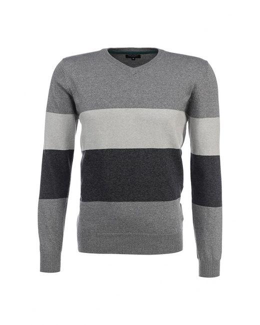 Top Secret   Мужской Серый Пуловер