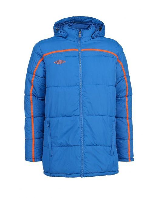 Umbro | Мужская Синяя Куртка Утепленная