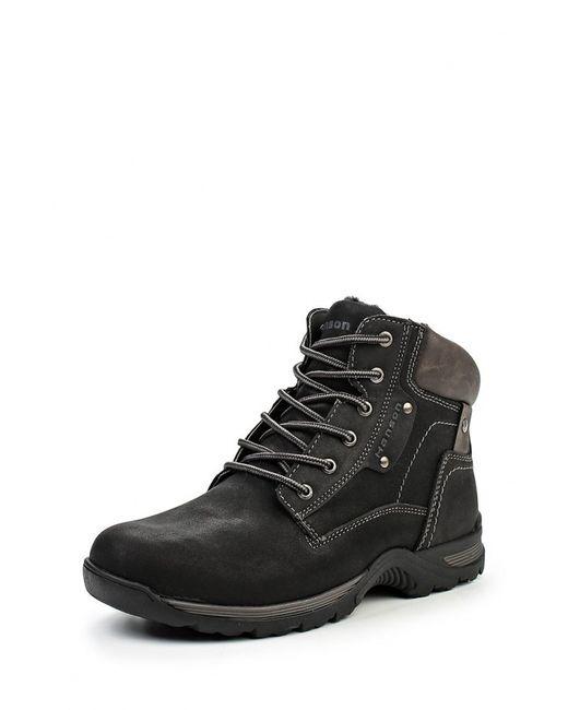 Hanson | Мужские Чёрные Ботинки