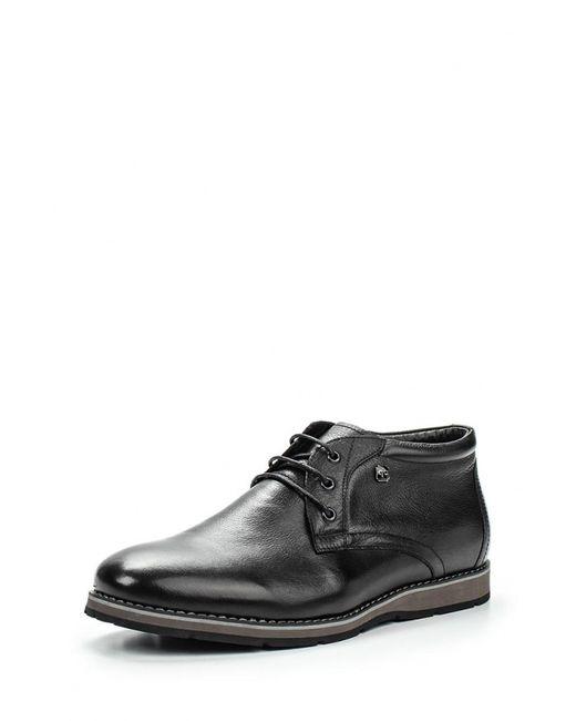 Quattrocomforto | Мужские Чёрные Ботинки